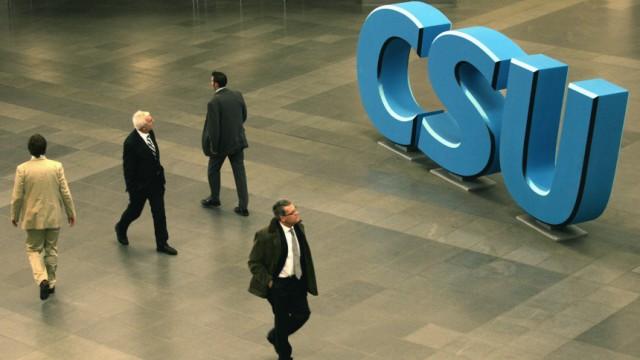 CSU Innerparteilicher Streit