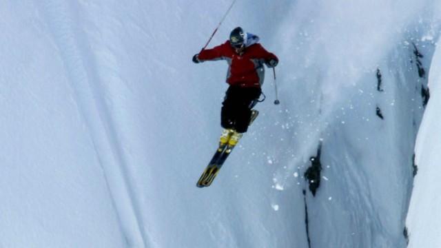 Extremskifahren in Wanaka