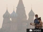 Moskau; VIdeoflag