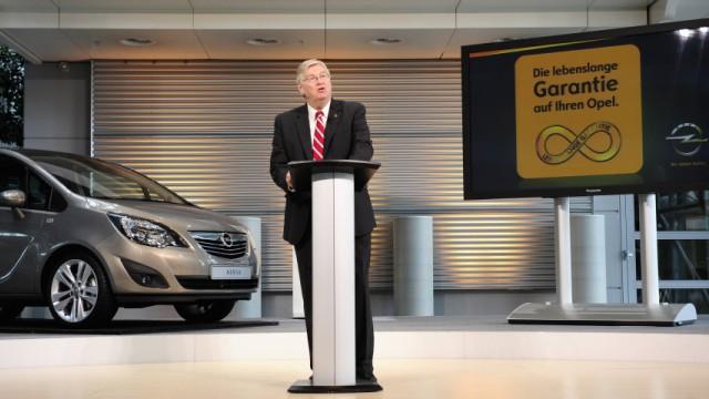 Opel gewaehrt lebenslange Garantie auf Neuwagen