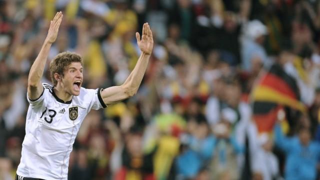 WM 2010: Deutschland - England