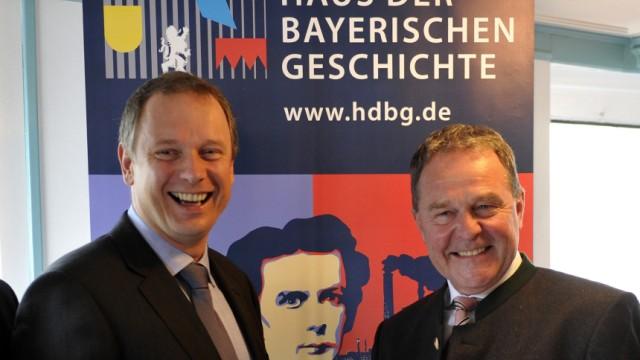 Präsentation der Bayerischen Landesausstellung 2011