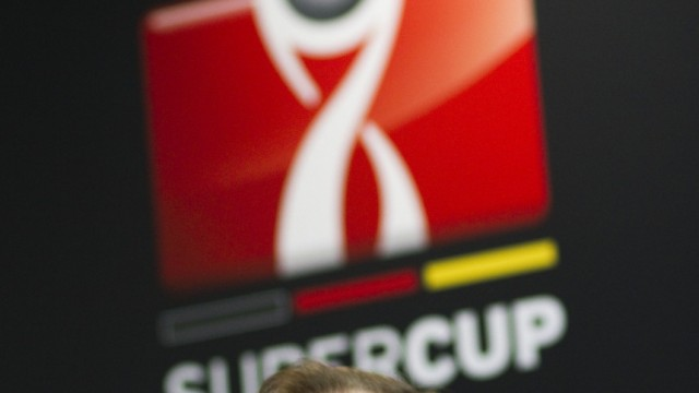 Pressekonferenz zum Supercup