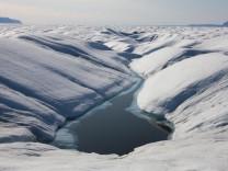 Riesiger Eisberg vor Grönland abgebrochen