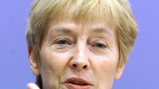 File photo of Former Families Minister Christine Bergmann