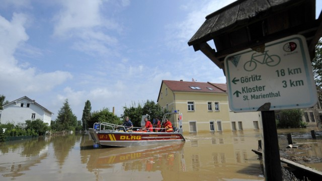 GERMANY-WEATHER-FLOODS