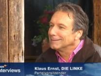 Klaus Ernst Sommerinterview ZDF