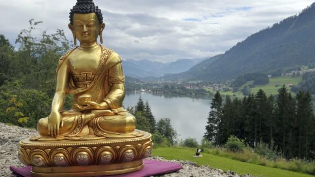 Buddhistentreffen im Allgäu