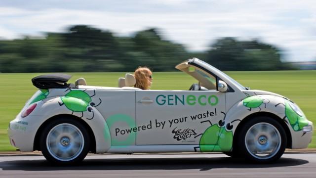 Alternative Antriebe Biogas