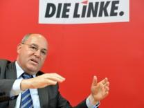 Die Linke - Sonderparteitag in Schweinfurt