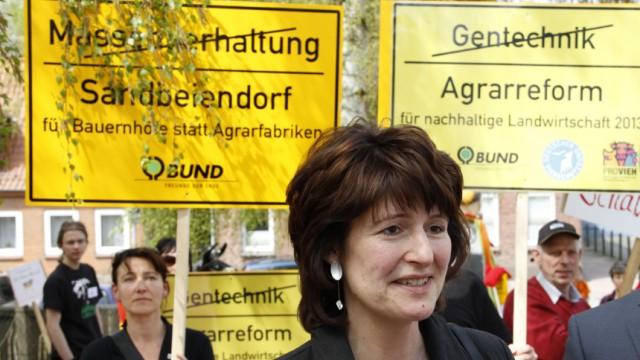 Bauernprotest vor Agrar-Frühjahrstagung in Plön