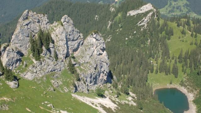 Alpen Bergseen Riederecksee