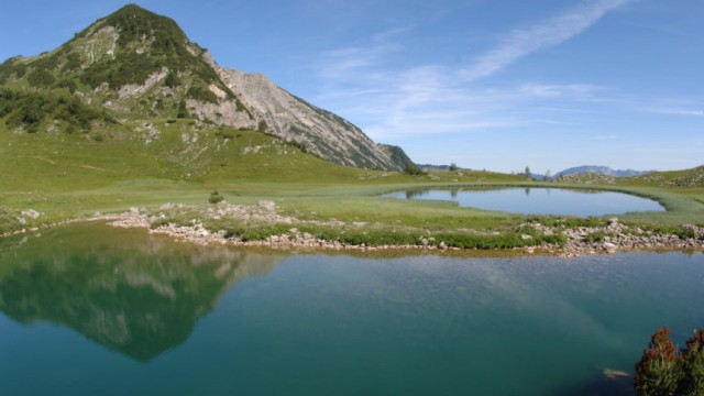 Alpen Bergseen Delpssee