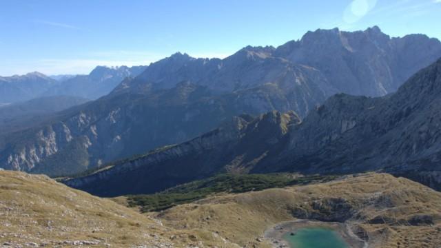 Alpen Bergseen Stuibensee
