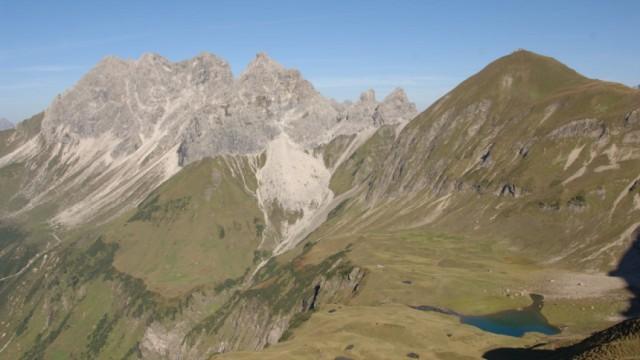 Alpen Bergseen Seen Rauheck