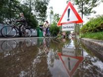 Hochwasser in Starnberg