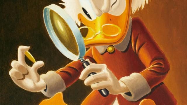 Gemälde von Disney-Zeichner Carl Barks in Auktion