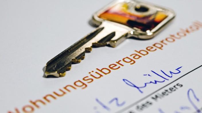 Wohnungsübergabe Übergabeprotokoll Wohnung mieten Mieter Vermieter