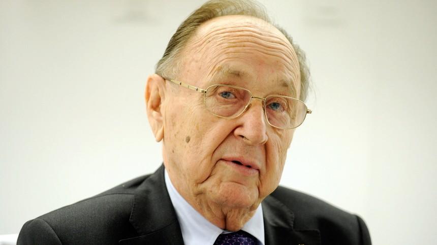 Hans-Dietrich Genscher FDP im Umfragetief