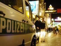 Polizei auf St. Pauli