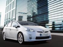 Hybridautos von Toyota bekommen gute Noten