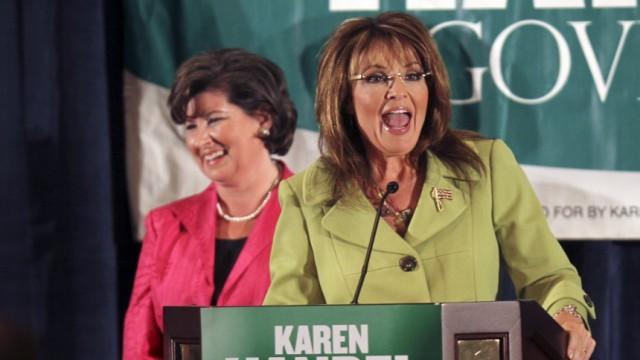 Sarah Palin, Karen Handel