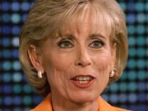 File photo of Dr. Laura Schlessinger appearing on the CNN program 'Larry King Live'