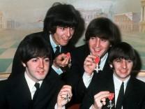 Beatlemania kurz vor der Eruption
