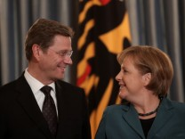 Koehler Hosts Dinner For German Cabinet