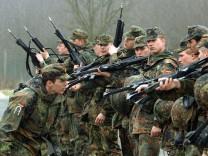 Debatte um Wehrpflicht