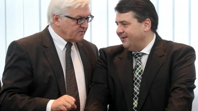"""´Bild"""": Renten-Kompromiss von Steinmeier und Gabriel"""