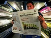 Frankfurter Rundschau erscheint erstmals im Tabloid-Format