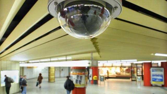 Überwachungskamera in Stuttgart