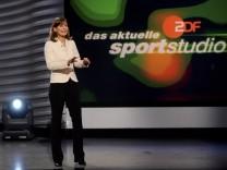 German Saturday's Sports TV Show 'Aktuelles Sportstudio'