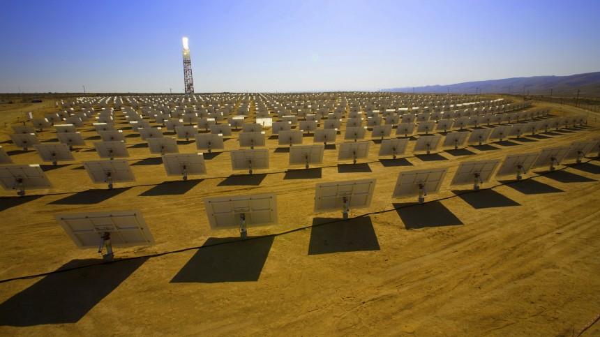 Solarkraftwerk Desertec-Initiative