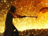 IG Metall fordert sechs Prozent mehr für Stahlkocher