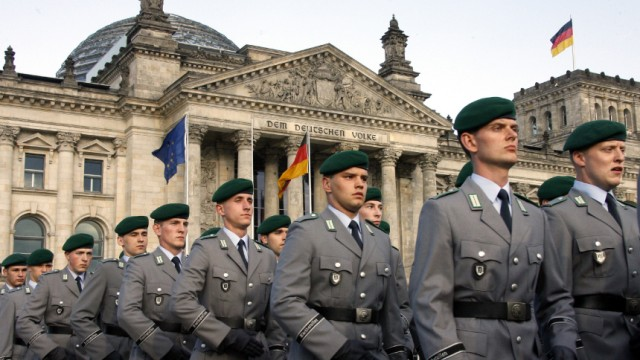 Wehrdienst soll verkürzt werden