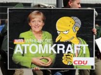 Merkel besucht Voith