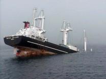 Schiffskollision vor der japanischen Küste