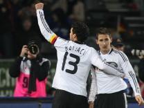 Fussball-Laenderspiel: Oesterreich - Deutschland