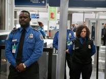 TSA Sicherheitskontrollen O'Hare Airport Chicago