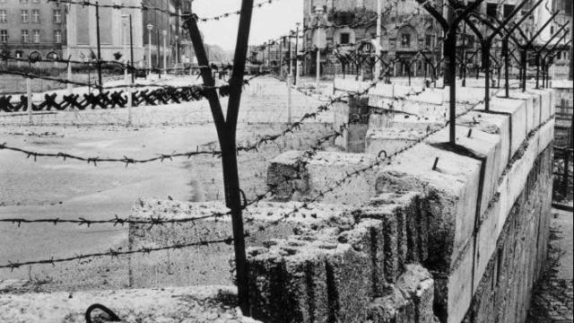 45. Jahrestag Mauerbau
