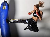 Kickboxen, Christine Theiss.
