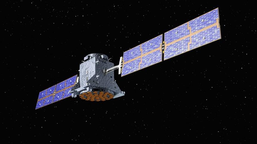 Merkel wirbt fuer Satellitensystem 'Galileo'