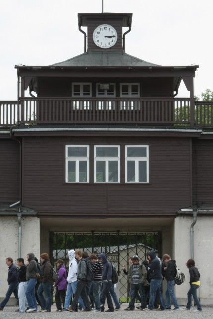 Buchenwald Concentration Camp Memorial Prepares For Obama Visit