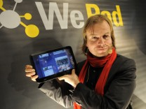 Vorstellung des Tablet-Computers 'WePad'