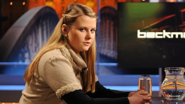 Kampusch im deutschen Fernsehen bei 'Beckmann'