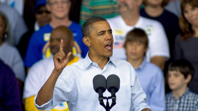 Barack Obama in Milwaukee