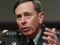 Gen. Petraeus Testifies At Senate Hearing On Situation In Afghanistan