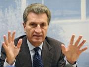 Ministerpräsident Günther Oettinger, CDU, dpa